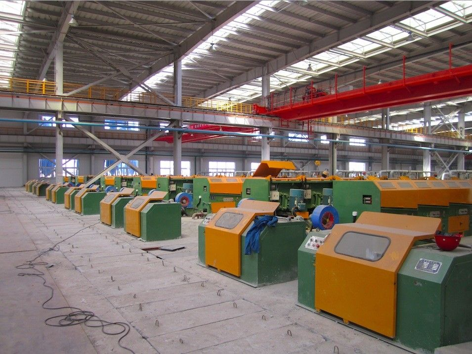 5.0mm - 12.0mm Welding Wire Forming Machine , Ribbed Steel Wire Wire Processing Machine