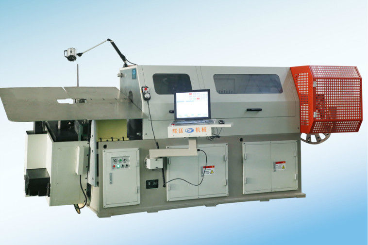 Integrated All In One Steel Wire Bending Machine With Electric Control System